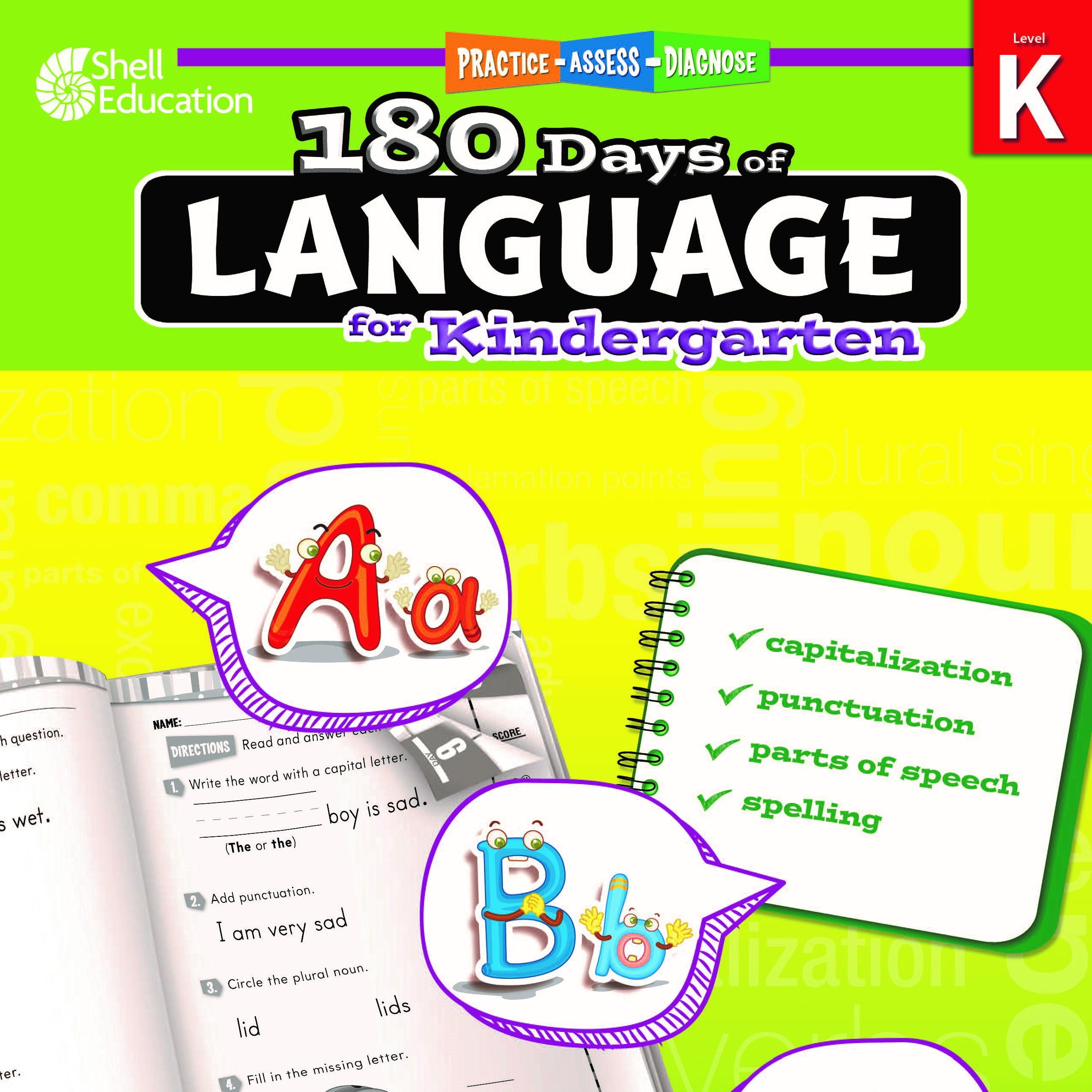180 Days of Language K
