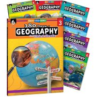 180 days of geography grade set
