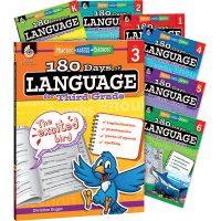 180 days of language grade set