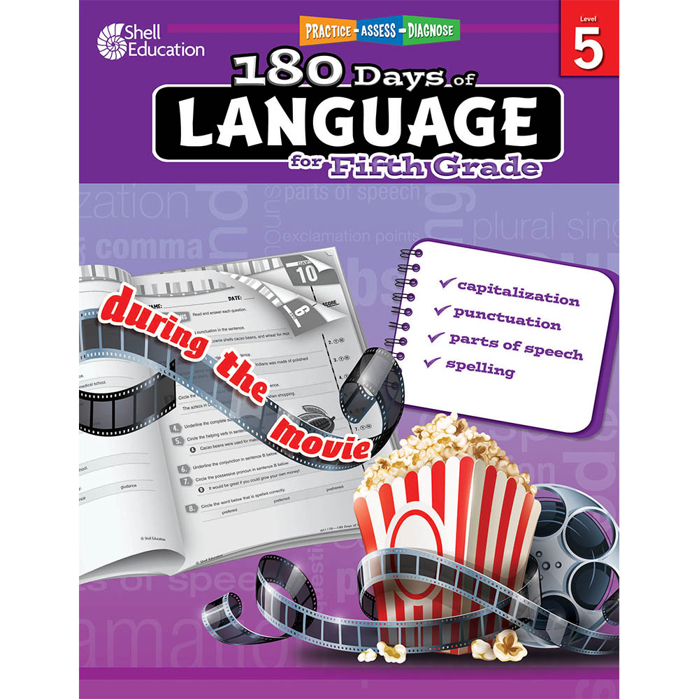 180 days of language grade 5