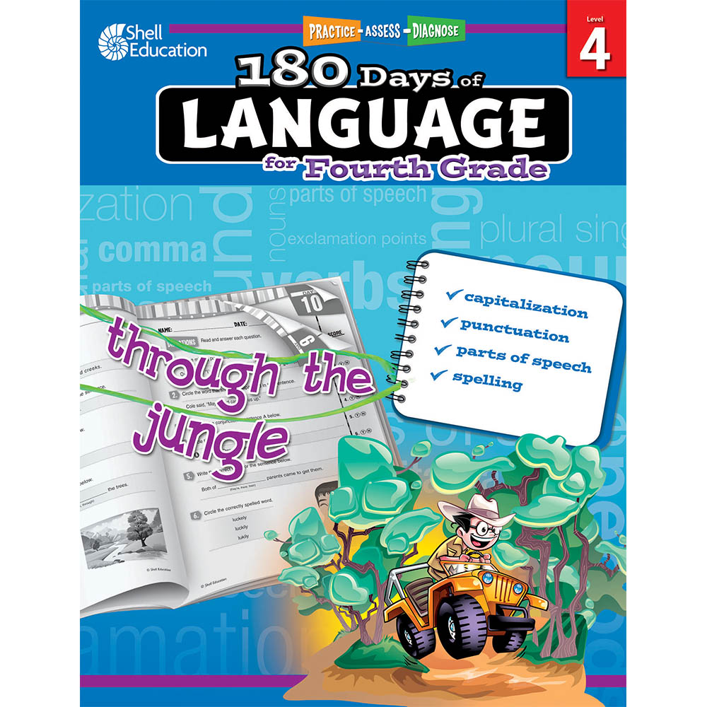 180 days of language grade 4