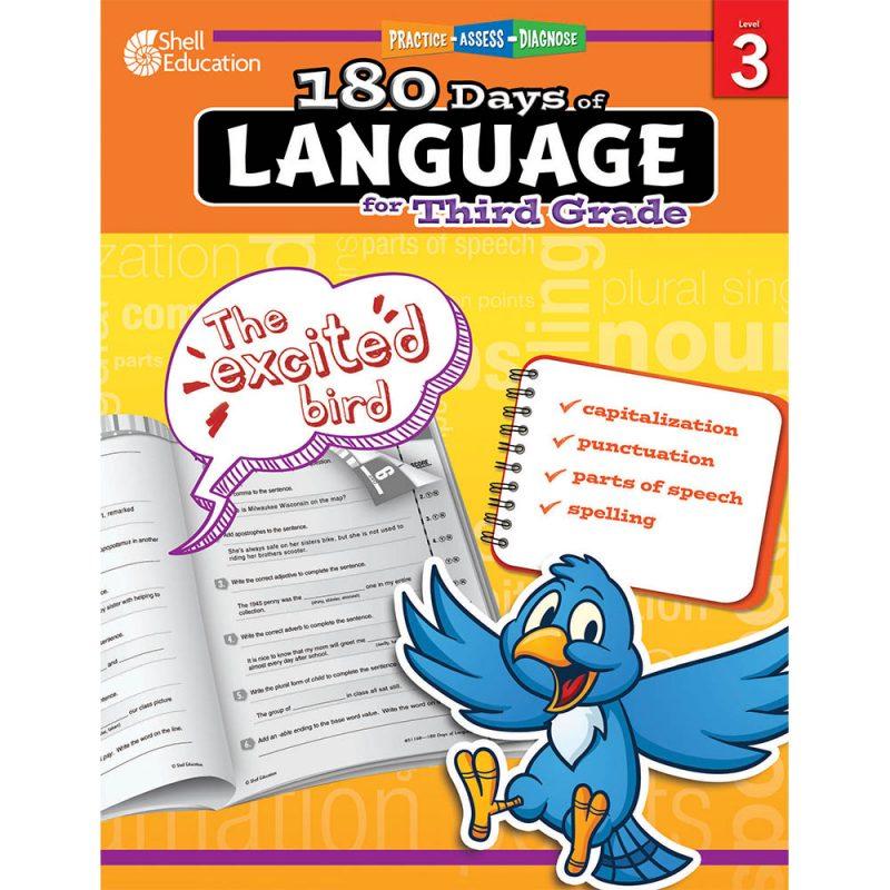 180 days of language grade 3
