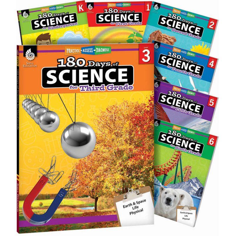 180 days of science grade set