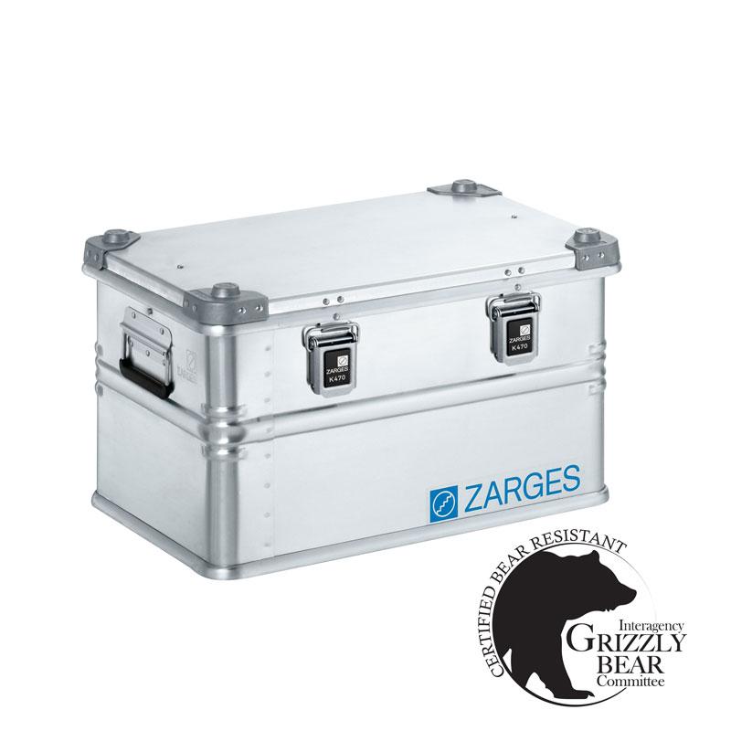 Large Zarges Aluminum Case Airstream