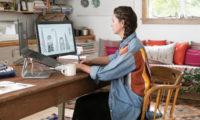 Owner scanning a design onto a computer