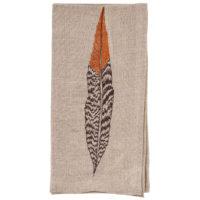 Pheasant-Feather-Napkin-Coral-and-Tusk-Folded