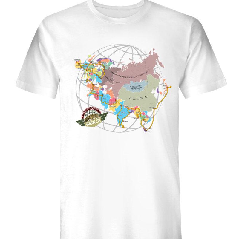 Wally Byam Around the World Map