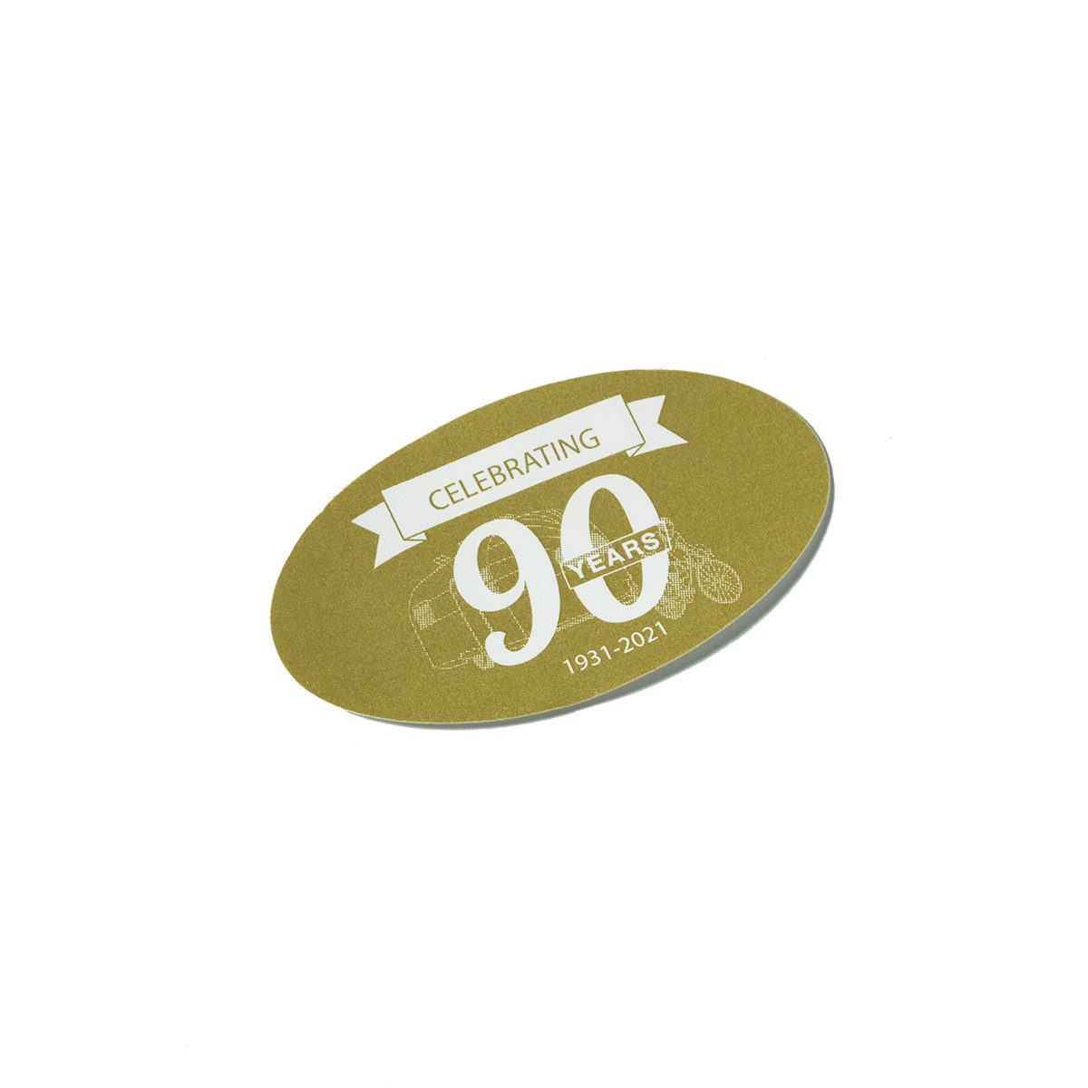 90 Year Magnet