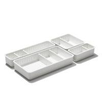 oxo airstream 4 piece adjustable drawer bin set 2