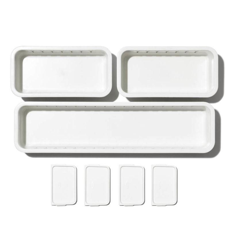 oxo airstream 3 piece drawer organizer 3