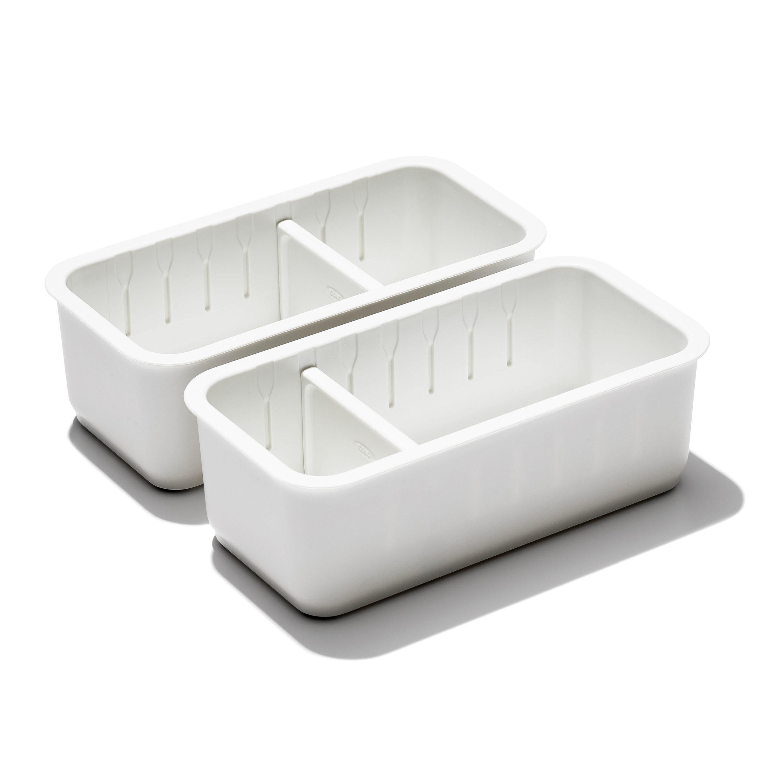 oxo airstream 2 piece drawer organizer 1