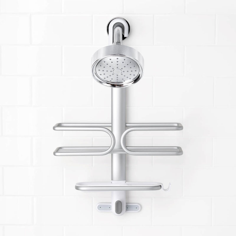 oxo aluminum shower caddy 5
