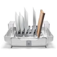 oxo airstream foldaway dish rack_1d