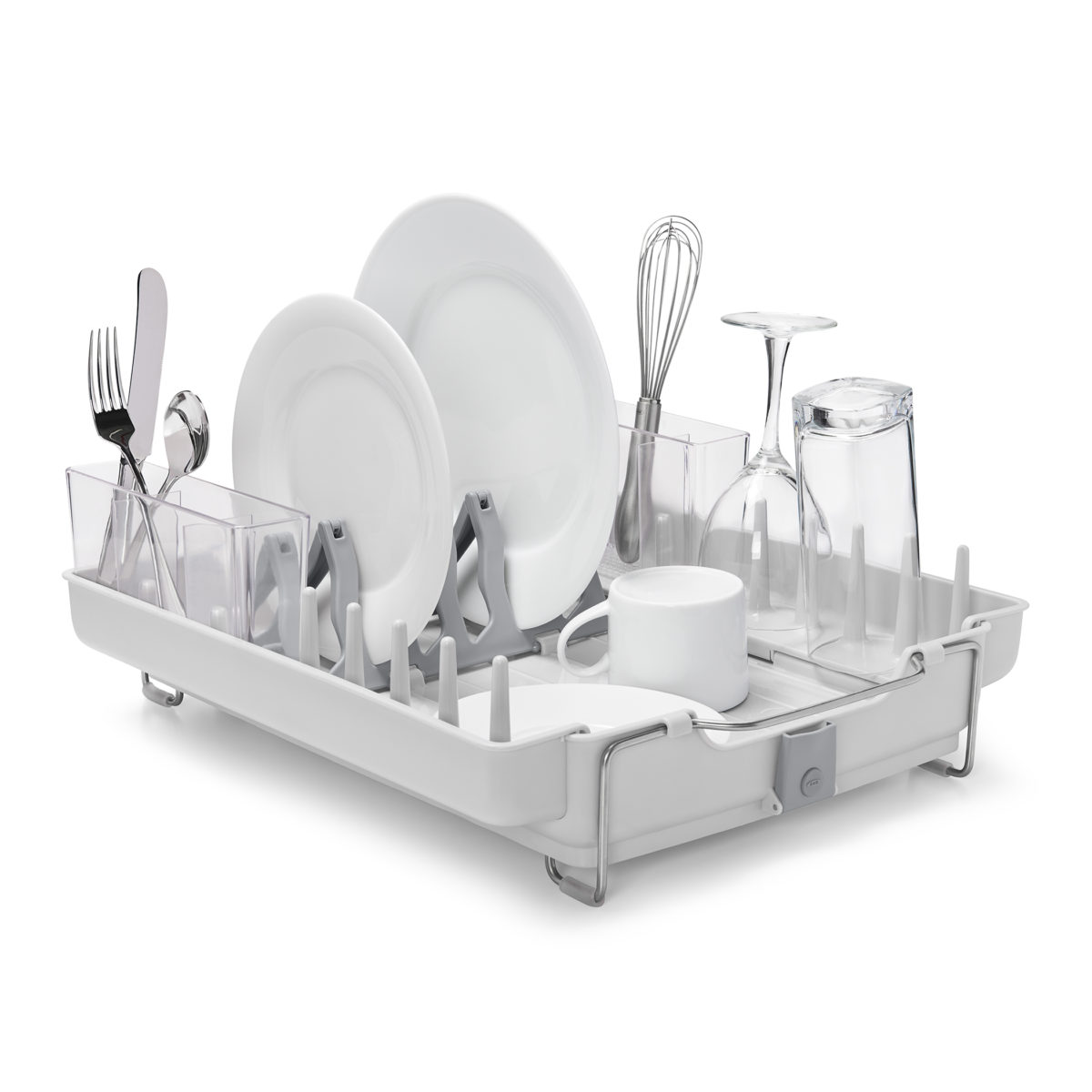 oxo airstream foldaway dish rack_1g