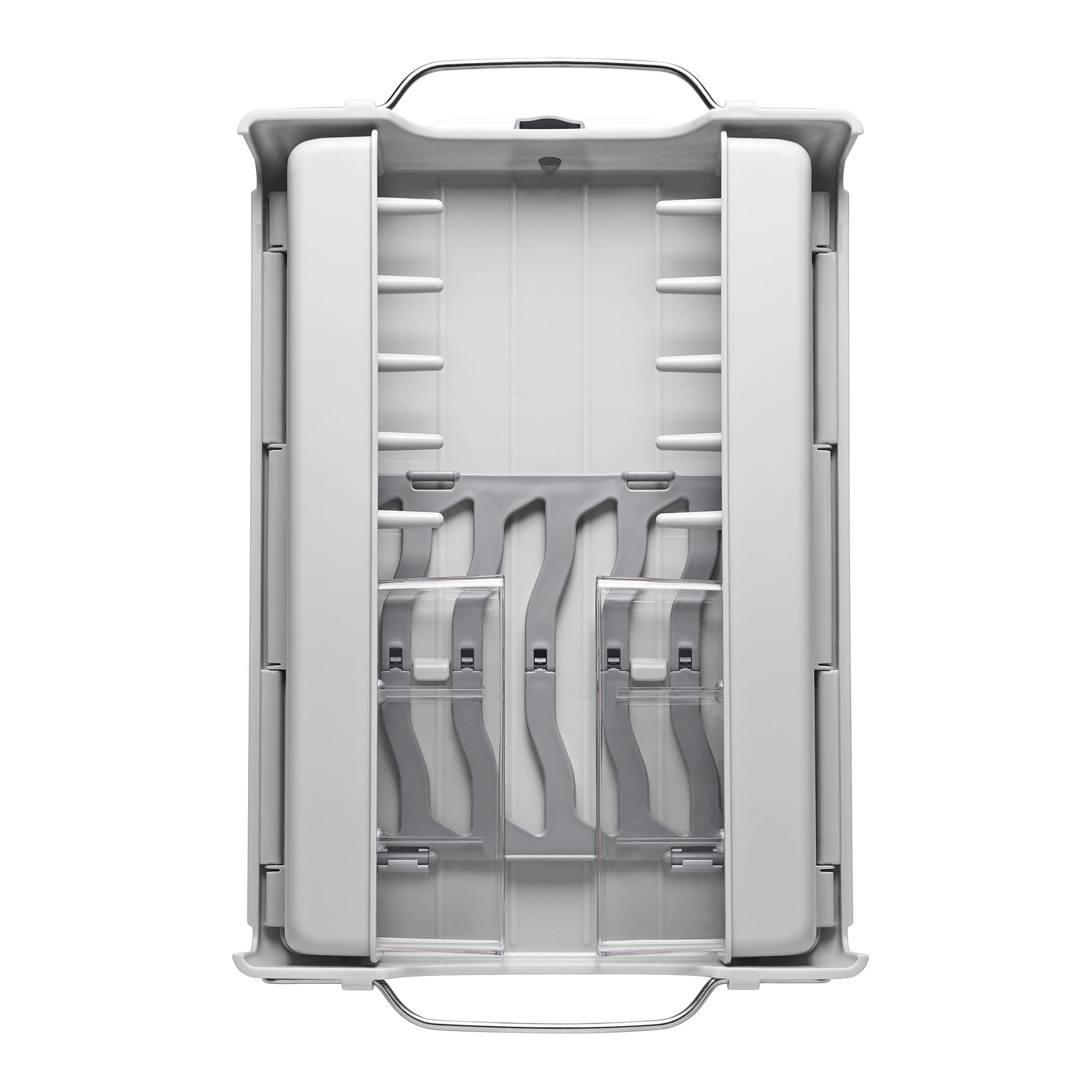 oxo airstream foldaway dish rack_2