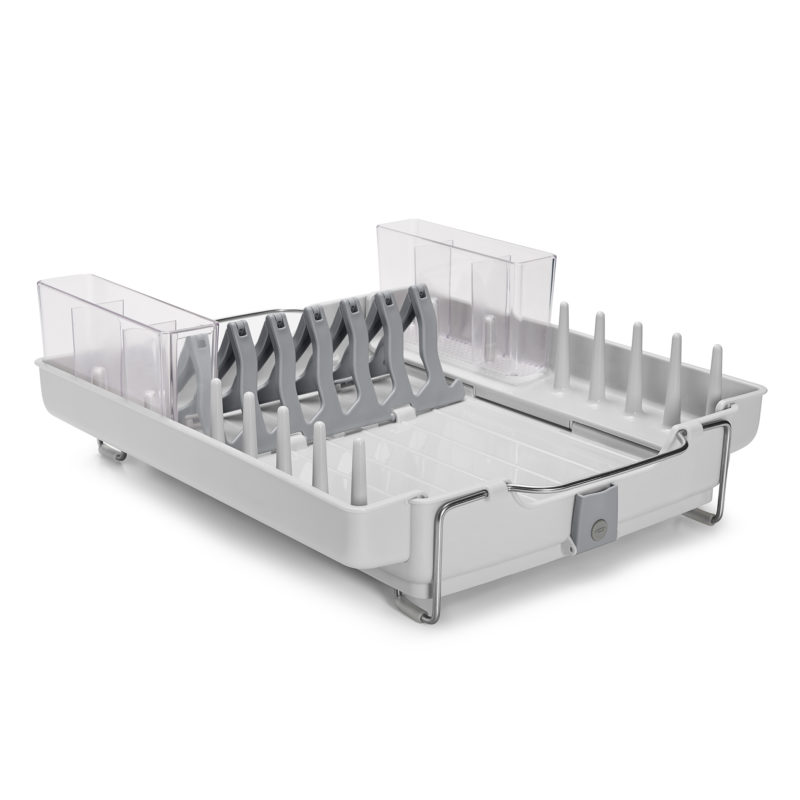 oxo airstream foldaway dish rack_1