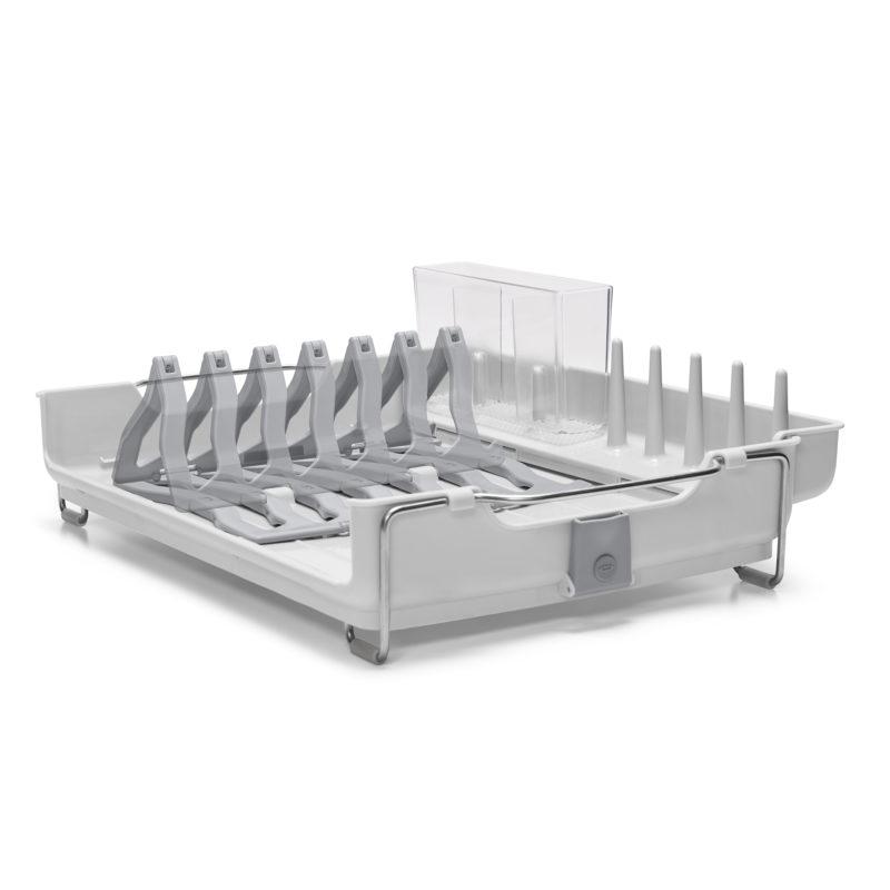 oxo airstream foldaway dish rack_3a