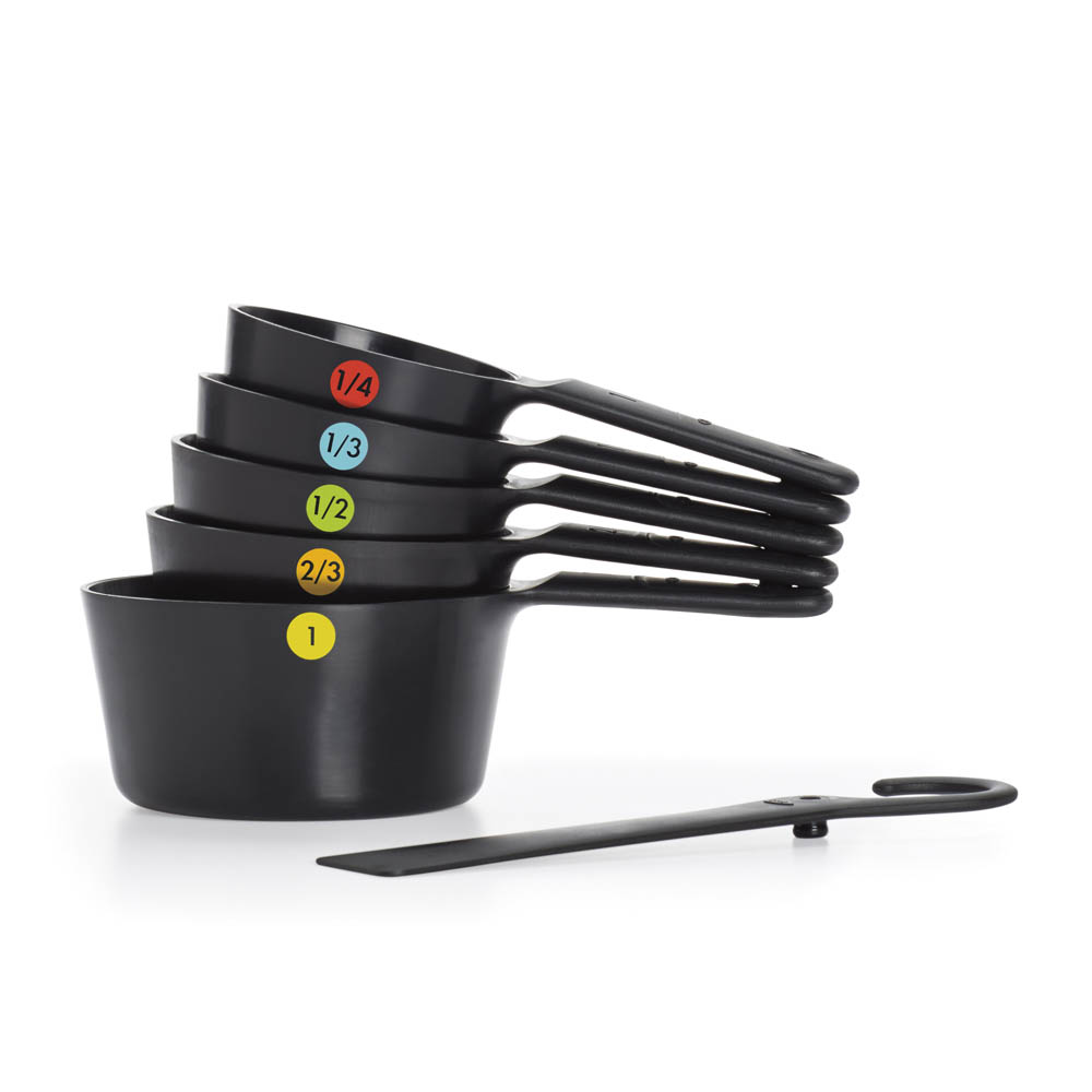 oxo airstream 6 six piece plastic measuring cups_5